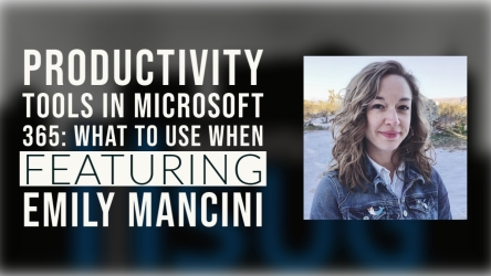 Productivity Tools in Microsoft 365: What to Use When