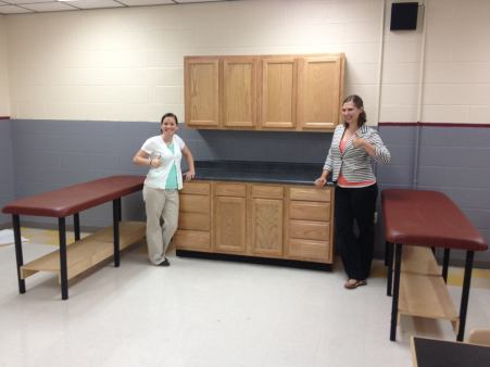 Sports Medicine Cabinet