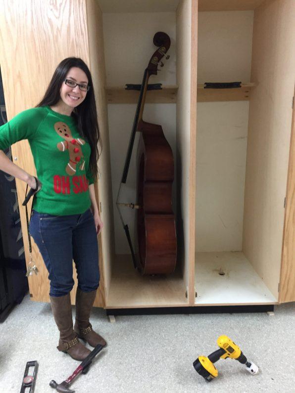 Instrument Storage Locker