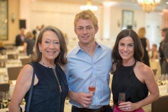 Nashville Wine Auction Vintners' Tasting_Marimar Torres_Colton Haas_ Alyson Haas