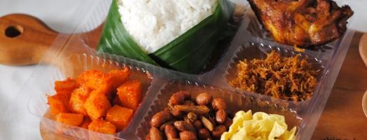Nasi Kotak Paket G (Rp 33,000)