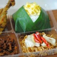 Nasi Kotak Murah Paket D (Rp 25,000)