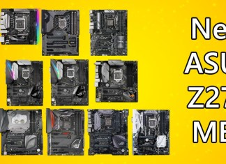 ASUS Z270 Motherboards