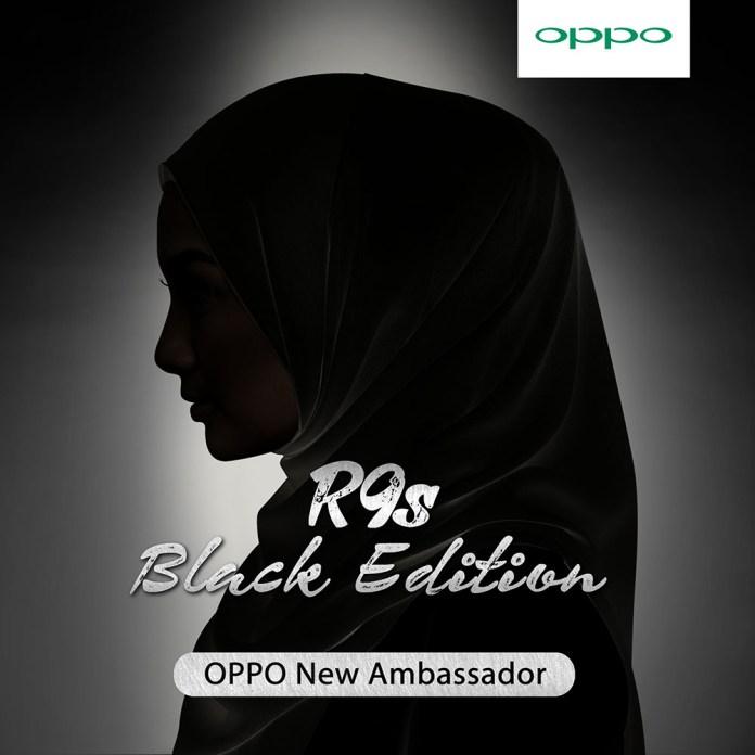 OPPO R9s Black Edition new ambassador