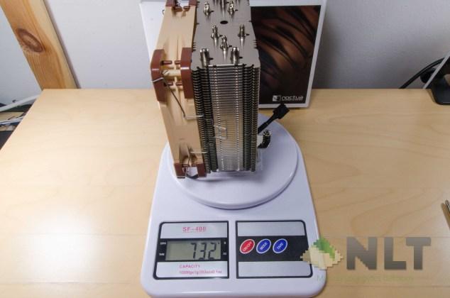 Noctua NH-U12S weight with fan
