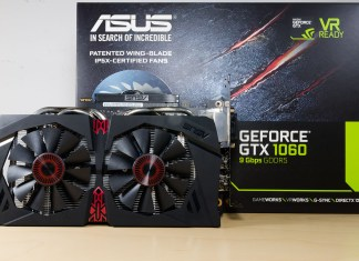 ASUS GTX1060 OC 9Gbps