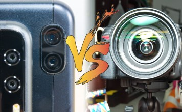 DSLR vs smartphone camera