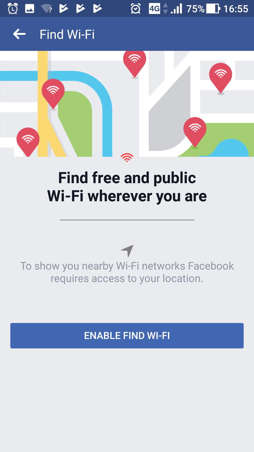 Facebook Wlan