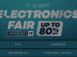 Lazada Electronics Fair 2017 header 2