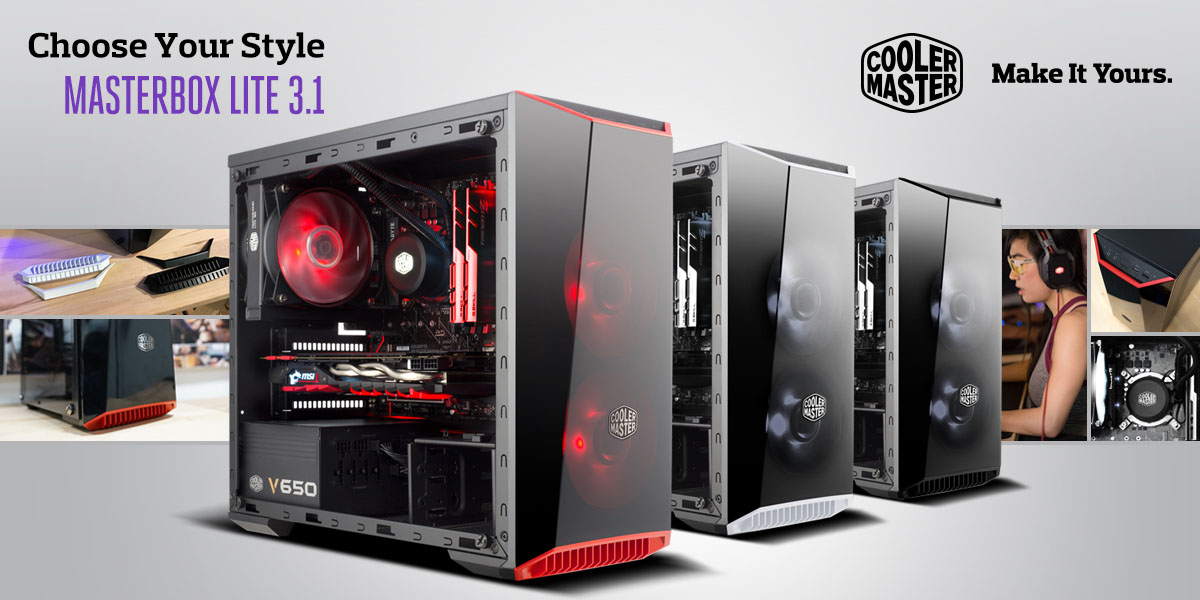 Cooler Master Introduces Masterbox Lite 3 1 For Matx