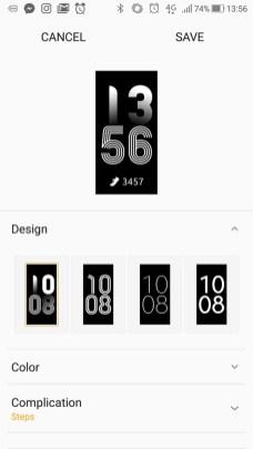 Samsung Gear Fit2 Pro App