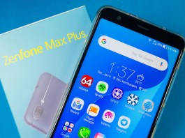 ASUS ZenFone Max Plus (M1) header