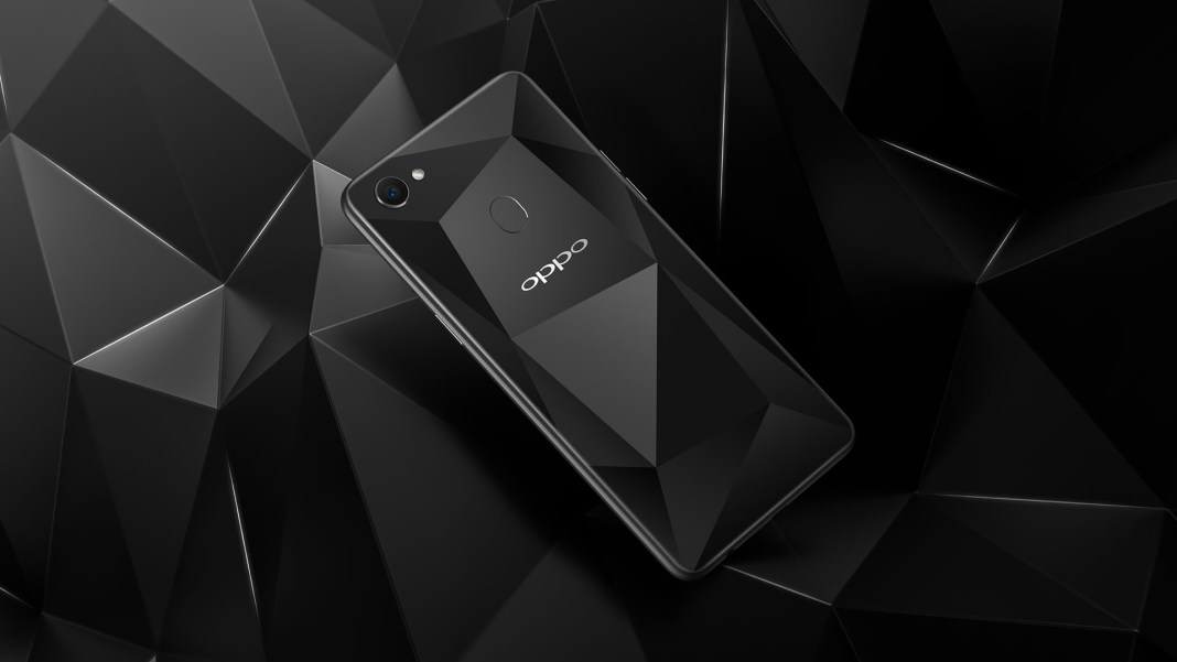 OPPO F7 Diamond Black