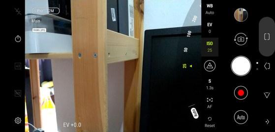 ASUS ZenFone 5 camera UI
