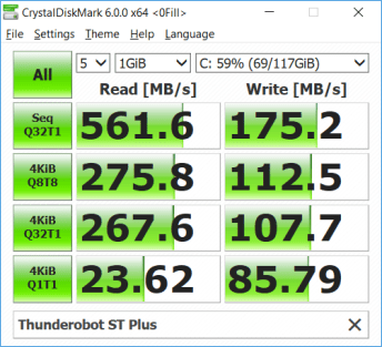 Thunderobot ST Plus SSD Benchmark (2)