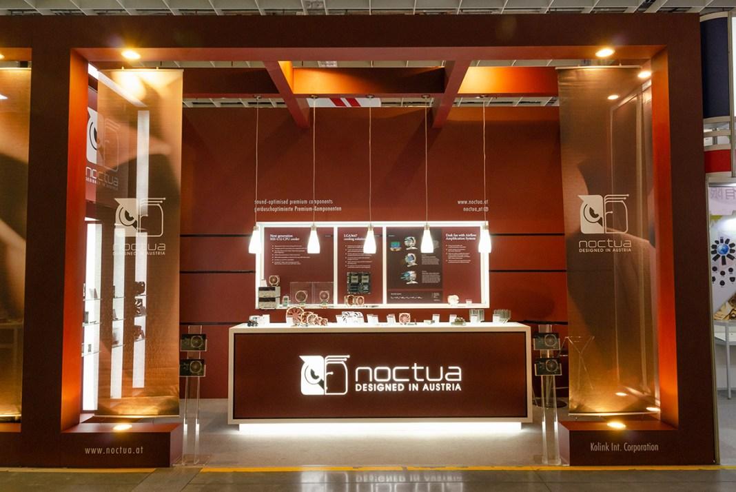 Computex 2018 Noctua Booth