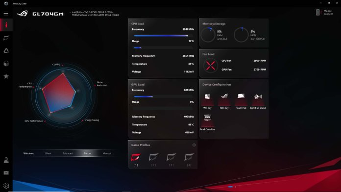 New ASUS Armoury Crate Software Preview - Clean