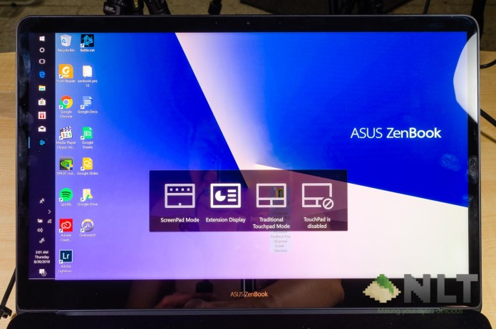 Review - ASUS ZenBook Pro 15 UX580GD | ScreenPad | Nasi Lemak Tech