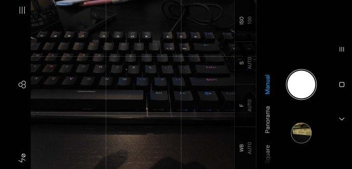 Xiaomi Pocophone F1 camera UI