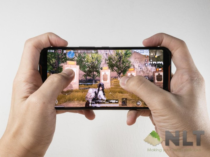 ASUS ROG Phone AirTriggers PUBG Mobile censored
