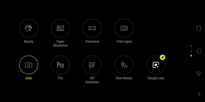 ASUS ROG Phone Camera UI