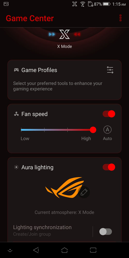 Review - ASUS ROG Phone: The Real Gaming Smartphone | Software
