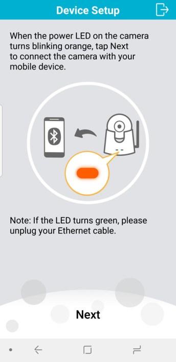 D-Link DCS-8525LH WiFi CCTV setup process