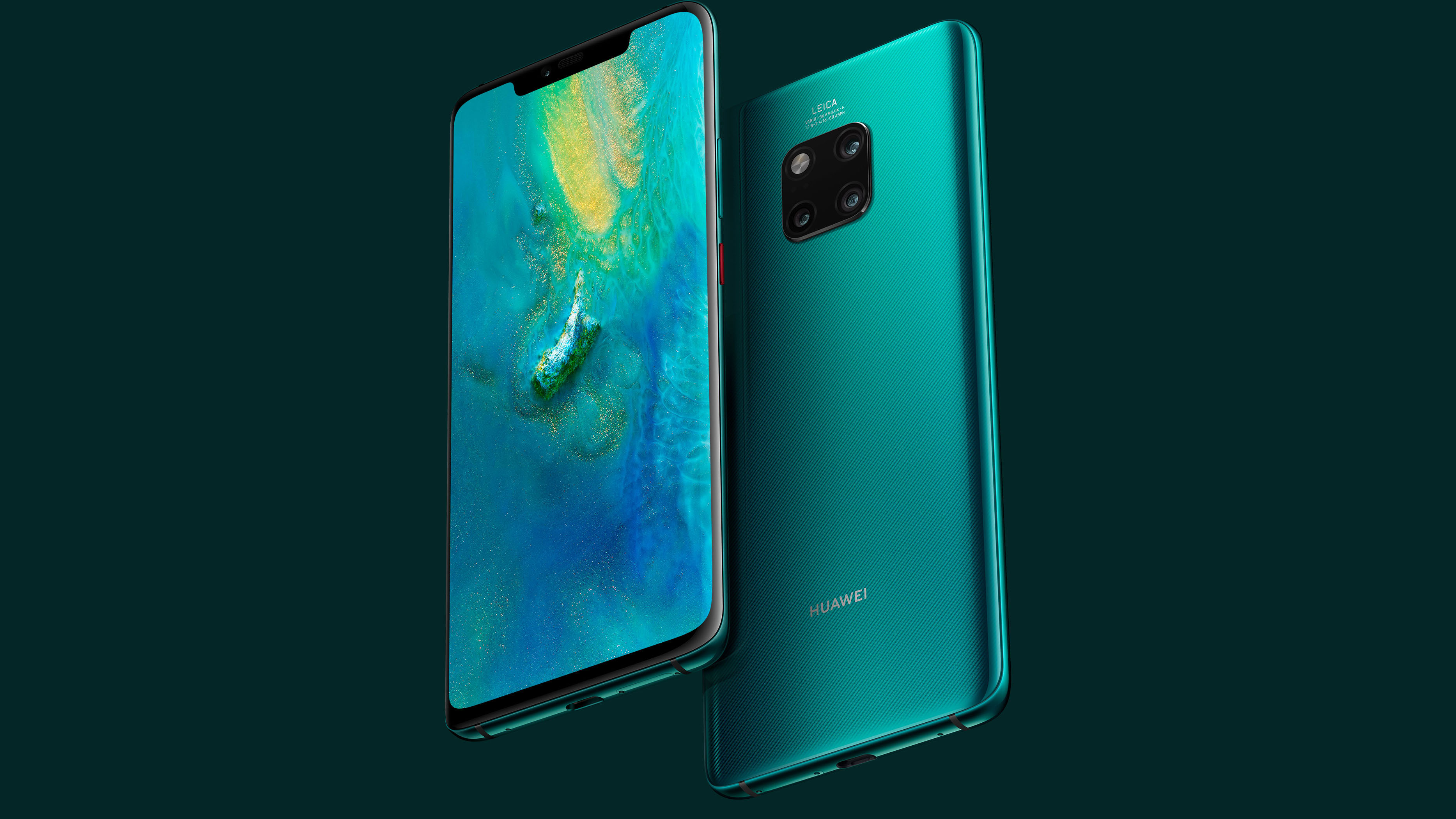 Download Official Huawei Mate 20 Pro and Mate 20 X Stock Wallpapers