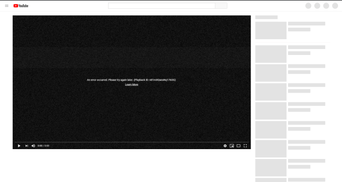Youtube Is Down Globally 4