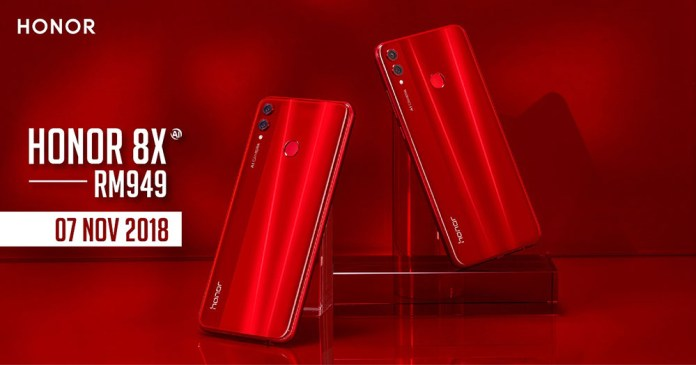 11.11 Honor Brand Day Brings Big Discount & Prizes Honor red