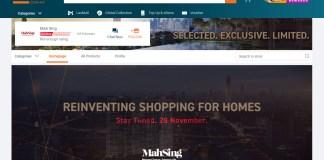 Lazada & Mah Sing Announces Joint Development; Buying Properties Online