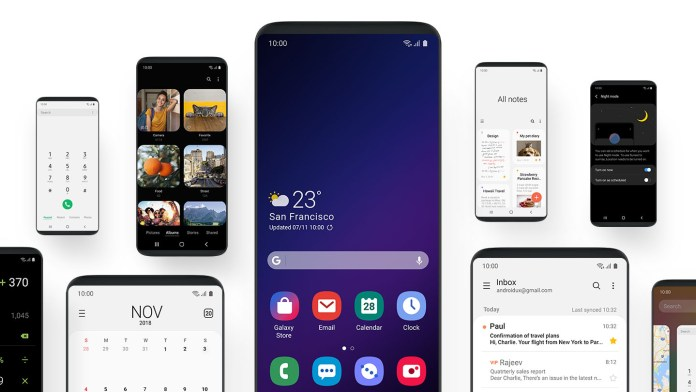 Samsung One UI Update For Galaxy S9 Rolling Out