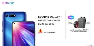HONOR View20 Roadshow 26th January 2019