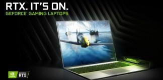 NVIDIA GeForce RTX 20-series GPU laptop