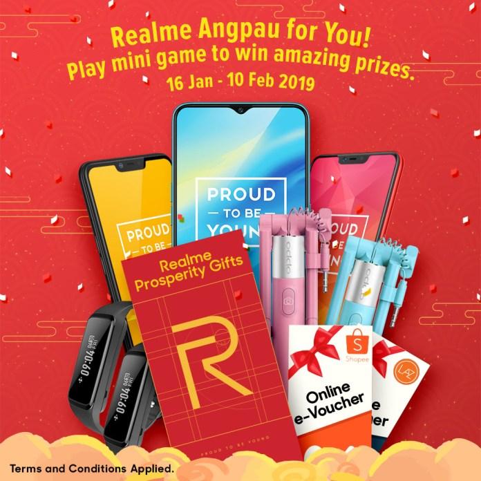 Realme Angpau For You Campaign