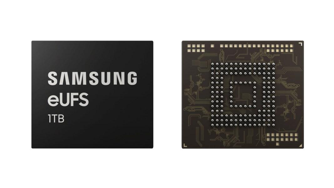 Samsung 1TB eUFS 2.1 chip