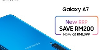 Samsung Galaxy A7 New RRP now at RM1099