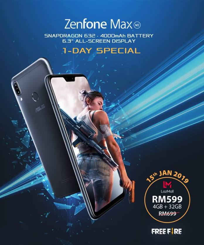 ASUS ZenFone Max (M2) Available in Malaysia 1