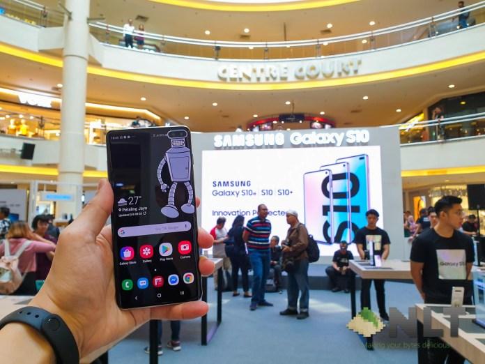 Samsung Galaxy S10 roadshow MidValley
