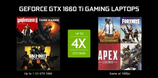 GeForce GTX 16-series GPU laptop launch