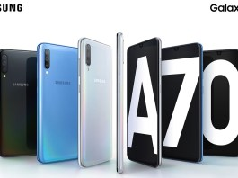 Samsung Galaxy A70 color combo