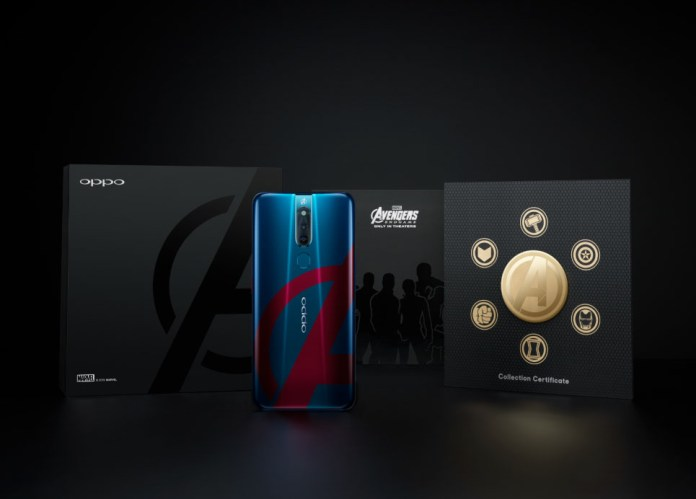Unboxing of the OPPO F11 Pro Marvel's Avengers Limited Edition