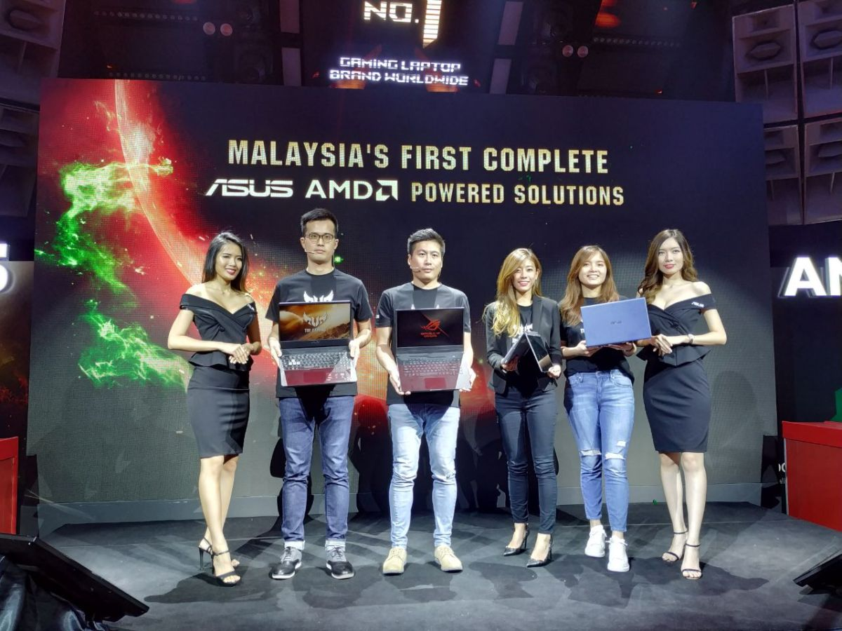 ASUS Malaysia brings AMD-powered FX505, ZenBook Flip, Vivobook Ultra, Zephyrus