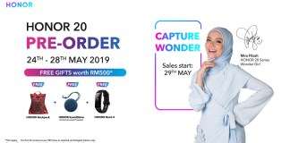 HONOR 20 Pre-order
