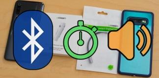 Bluetooth Wireless audio delay test