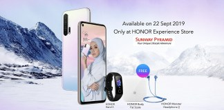 HONOR 20 Pro Icelandic Frost launch