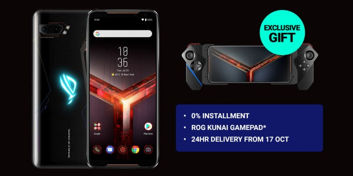 Blind pre-order for ROG Phone 2 starts 14th October on Shopee; get Kunai gamepad for free 1