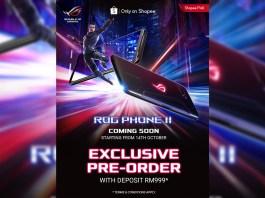 ASUS ROG Phone 2 blind pre-order Shopee