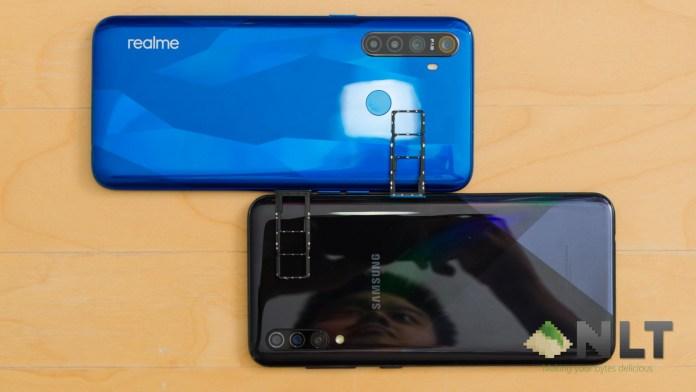 realme 5 vs Samsung Galaxy A30s