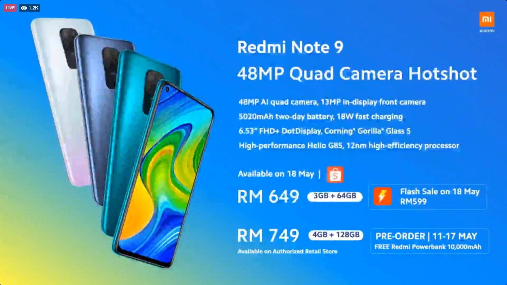 Redmi Note 9 Redmi Note 9 Pro Comes At Rm649 And Rm1 099 Mi Note 10 Lite At Rm1 599 Nasi Lemak Tech